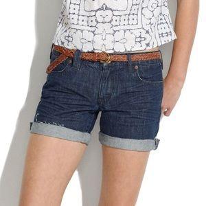 Madewell Denim Midi Shorts